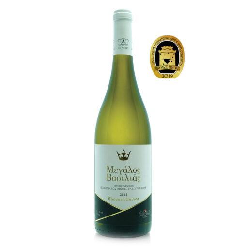 megalos basilias great king leykos oinos winery louloudis